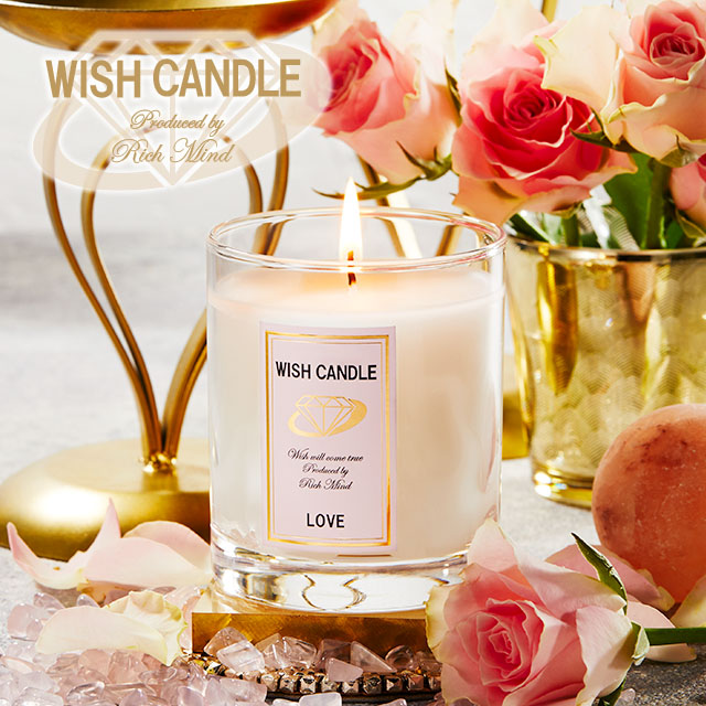 WISH CANDLE キャンドル <LOVE>