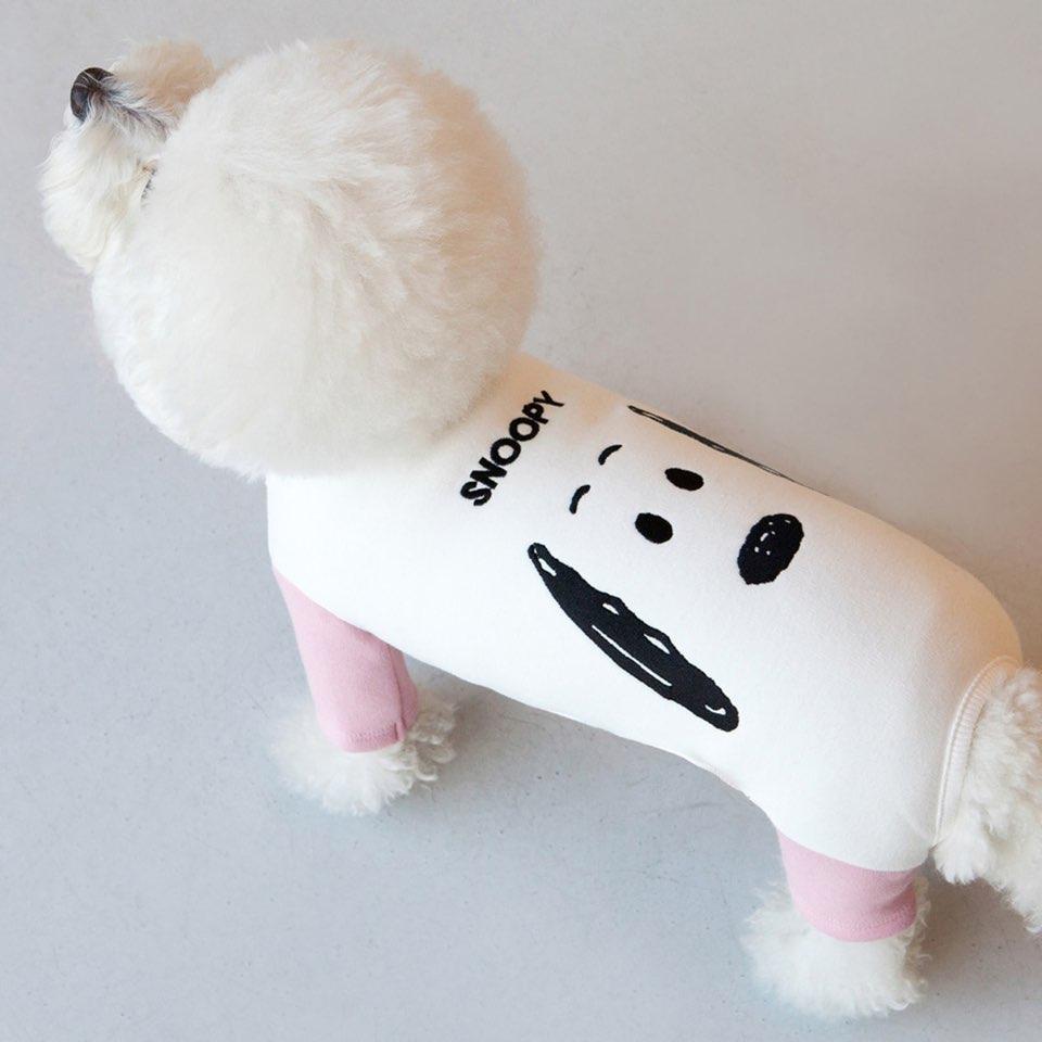 スヌーピー チャーリーブラウン カラーブリック オールインワン 2タイプ 【犬用 ロンパース】