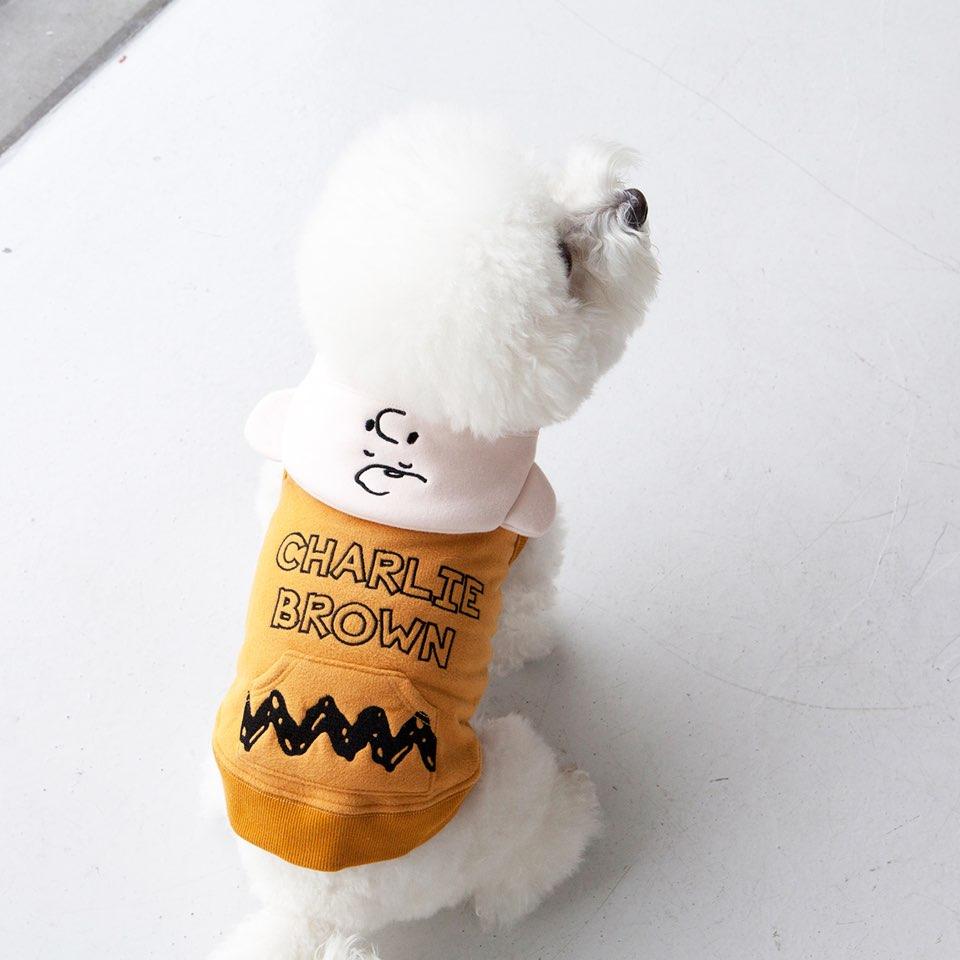 スヌーピー チャーリーブラウン シップアップ フーディー 2タイプ 【犬用 アウター】