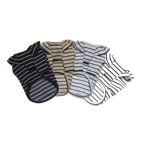 ストライプ Tシャツ 2色 【犬用 Tシャツ】