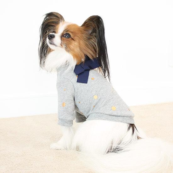 ポルカ ドット スウェットシャツ 3色 【犬用 トップス】