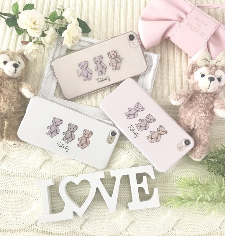 My teddy bear's【ハードケース】 Re