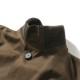 RING JACKET Npoli リングヂャケットナポリ A-1型 ショートブルゾン DRAPERS コットン【ブラウン/無地】