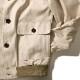 RING JACKET Npoli リングヂャケットナポリ A-1型 ショートブルゾン DRAPERS コットン【ベージュ/無地】