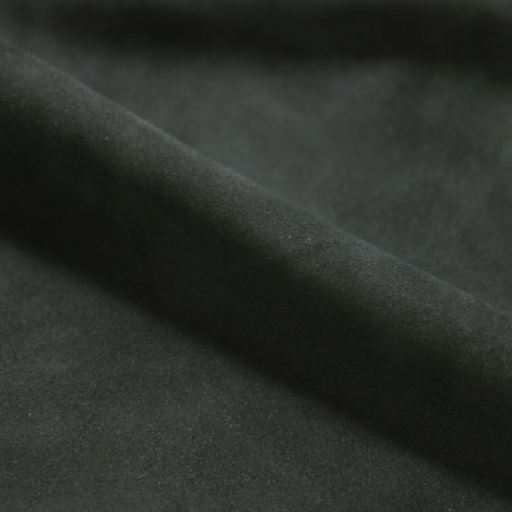RING JACKET Napoli リングヂャケットナポリ シープスキンスエード サファリジャケット【グレー/無地】