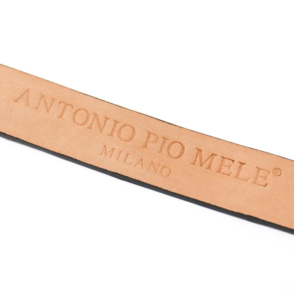 ANTONIO PIO MELE アントニオピオメーレ 22� クロコダイルベルト 【ブラウン・ブラック】