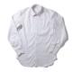 RING JACKET Napoli リングヂャケットナポリ ハンド9工程 TOSSETI 100/2×100/2 TWILL レギュラーカラーシャツ ショートポイント【ホワイト/タッタソールチェック】