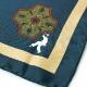 SPACCA NEAPOLIS / スパッカネアポリス シルクプリントチーフ 【グリーン×ベージュ・ブルー×グリーン・レッド×グリーン・ブラウン×ブルー】