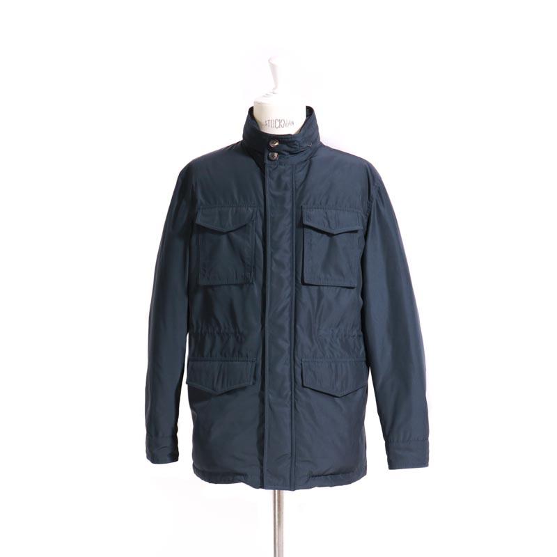 RING JACKET Napoli M-65型 ナイロンダウンジャケット  【ネイビー 】