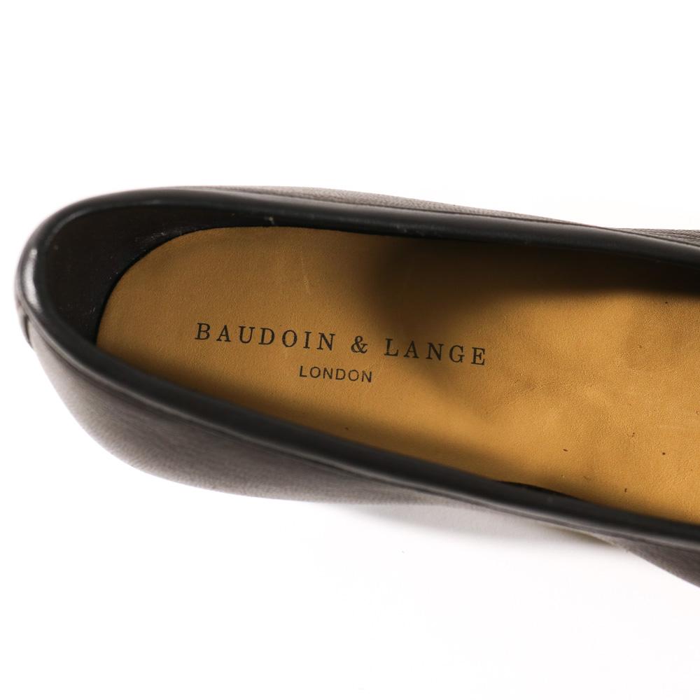 BAUDOIN&LANGE ボードインアンドランジ Sagan Classic Tassels ディアスキン タッセルローファー【ブラウン・ブラック】
