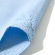 RING JACKET Napoli リングヂャケットナポリ ハンド9工程 コットン・カシミヤ ショートポイントレギュラーカラーシャツ【ブルー/無地】