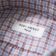 RING JACKET Napoli リングヂャケットナポリ ハンド9工程 オーバーチェックボタンダウンシャツ【ブルー×レッド/チェック】