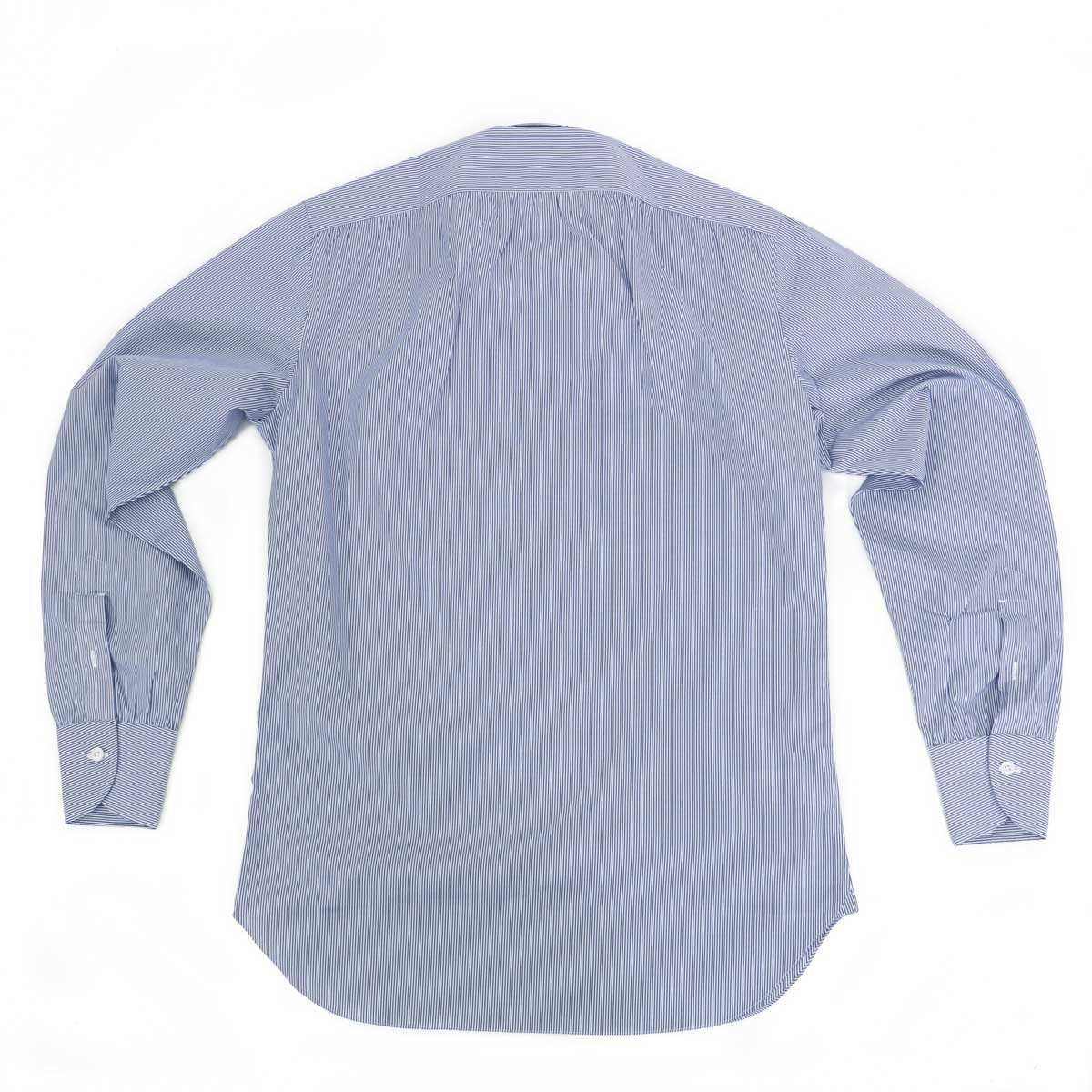 RING JACKET Napoli ショートポイント レギュラーカラーシャツ 【ネイビー】