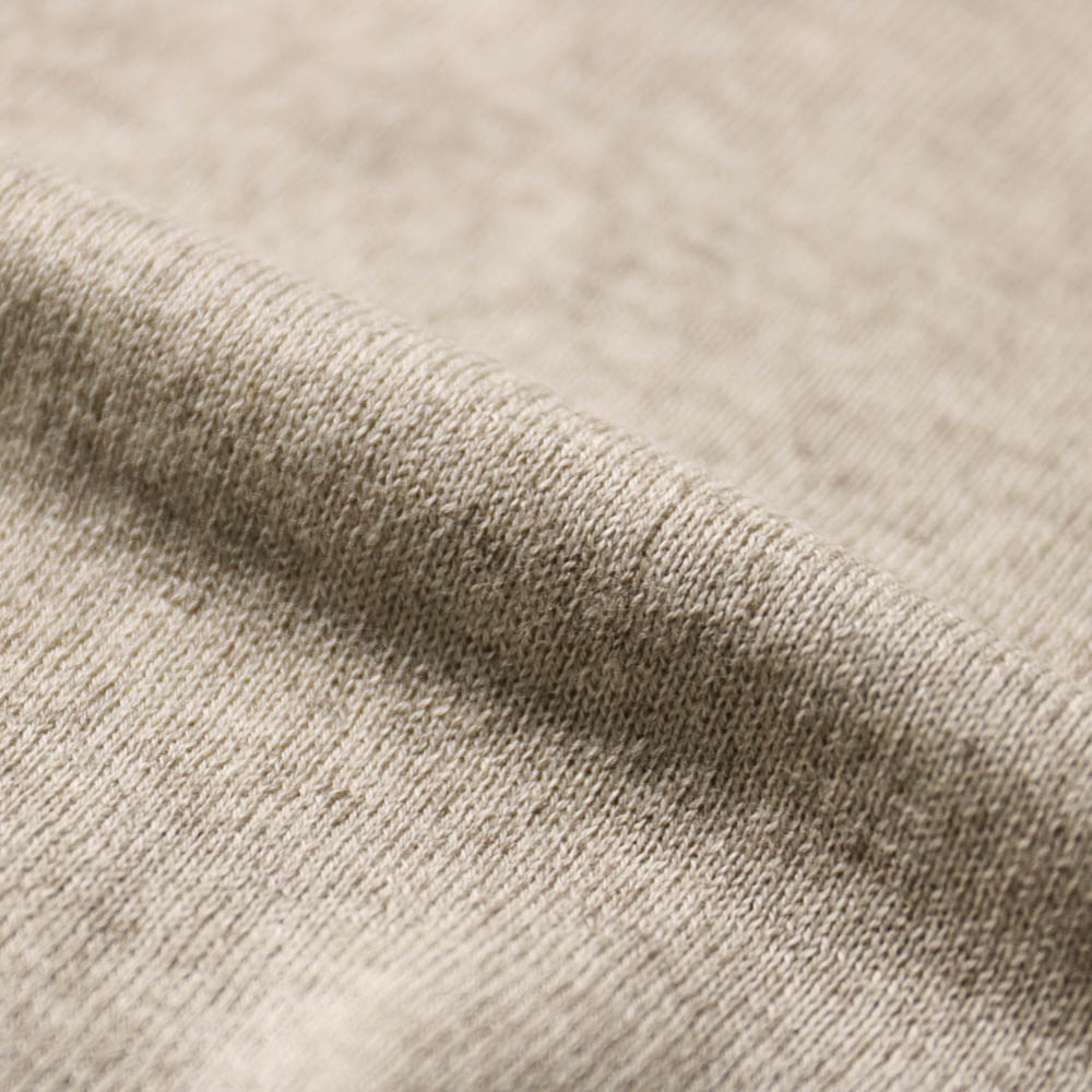 Settefili Cashmere セッテフィーリカシミア RAHURHM コットン・カシミヤ 半袖クルーネックセーター【ブルー・ブラウン・ホワイト/無地】