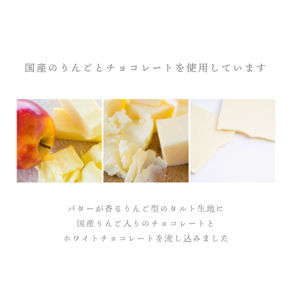 りんごとバター。チョコレートタルト 8個入 (宅急便発送) proper