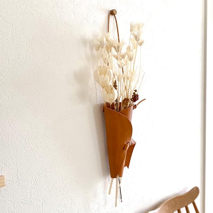 【企画品】フラワーバッグ フラワーベース(壁掛け可)