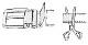 クロコダイル マット 40ミリ ベルト ブラック