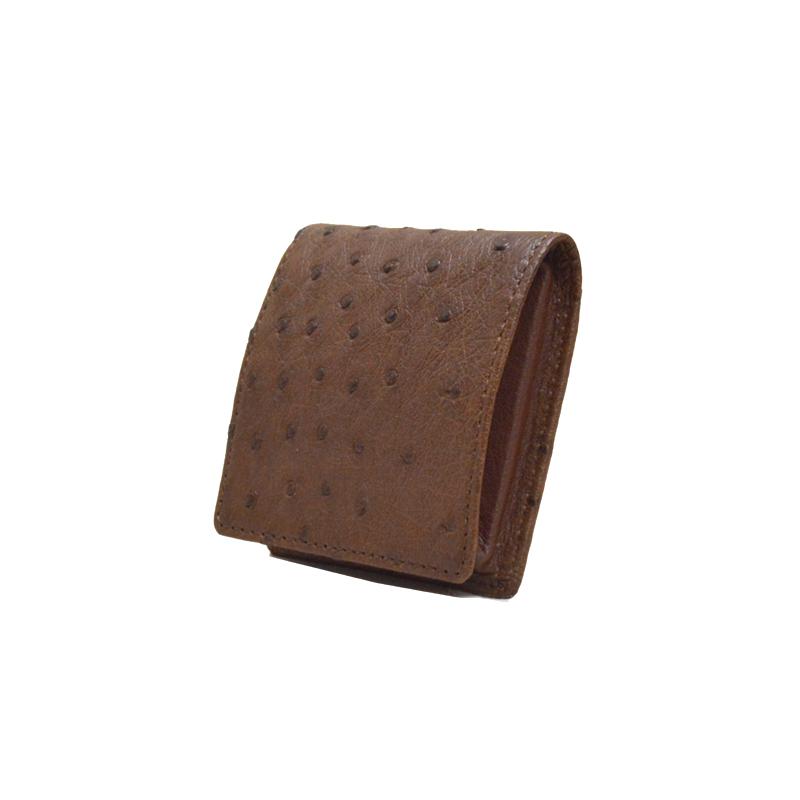 オーストリッチ Boxタイプコインケース カンゴ ※こちらの商品は会員登録時に付与されるポイントのご利用はできません。