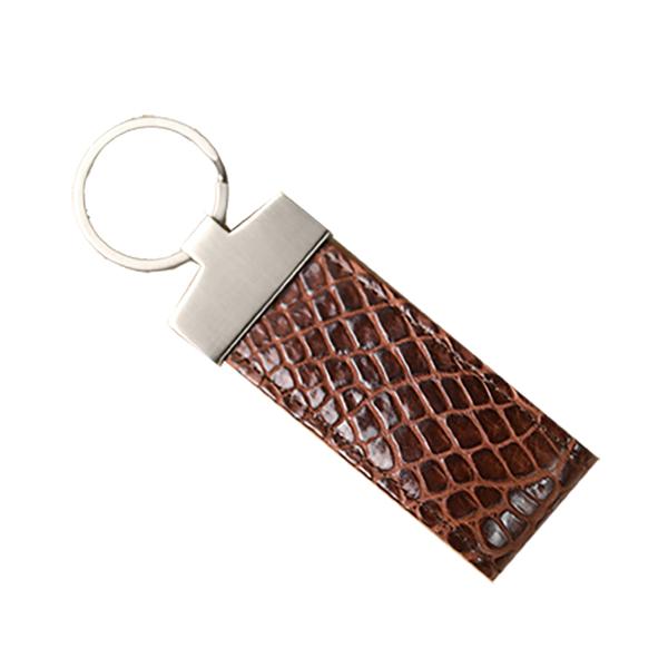 クロコダイル マット キーホルダー チョコ ※こちらの商品は会員登録時に付与されるポイントのご利用はできません。