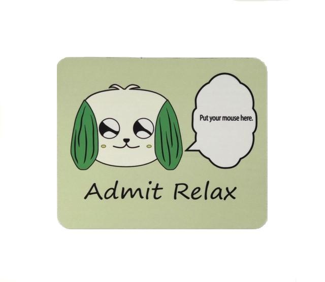 Admit Relaxマウスパット グリーン
