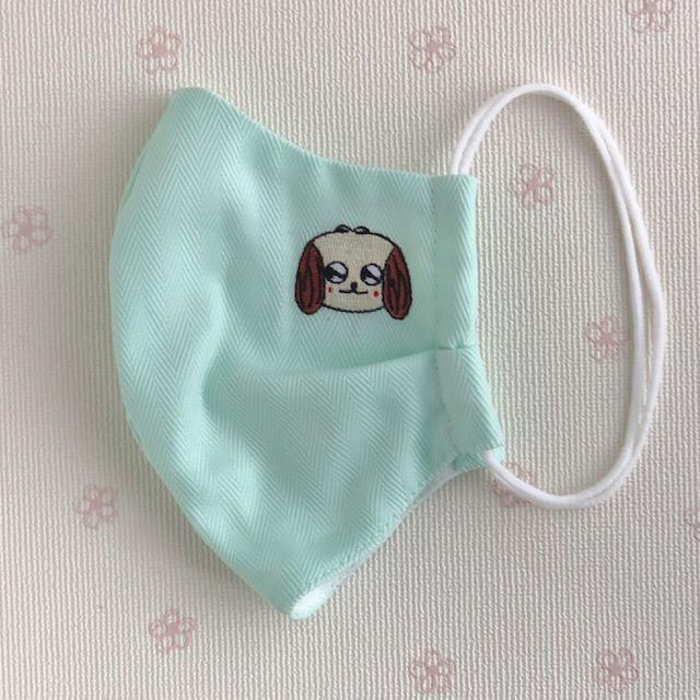 【送料一律350円】HANA刺繍入り  マスク
