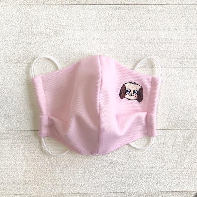 制菌マスク HANAちゃん刺繍