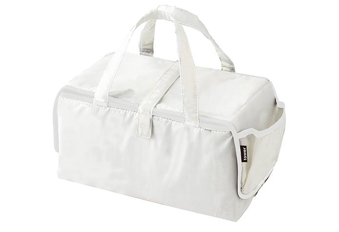 白くて、きれいな、アイロンマット&バッグ