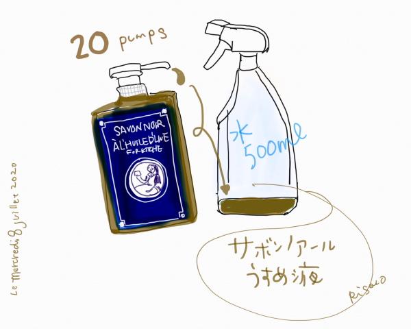 サボンノアール *キッチン用洗剤*