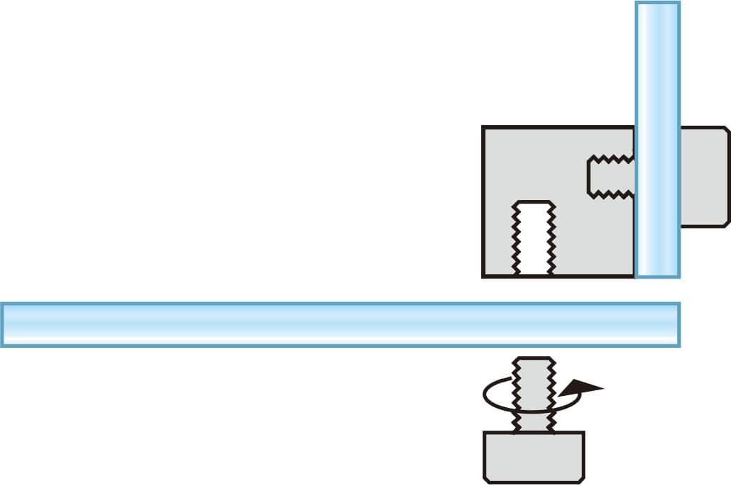 アクリルパーテーション3面タイプW900×H600×D450mm_2枚(窓付)