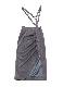 Gather suspender skirt
