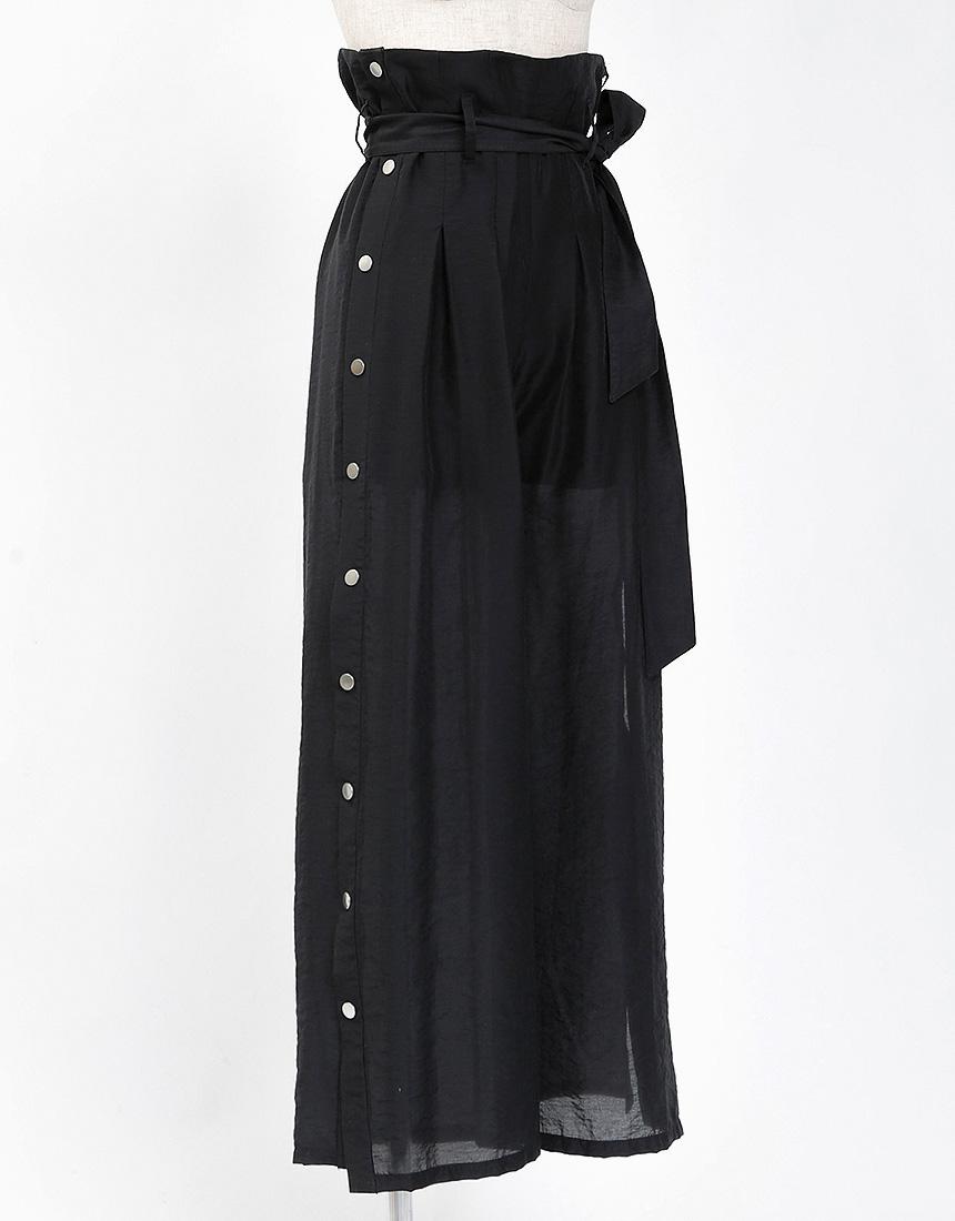 Side slit pants