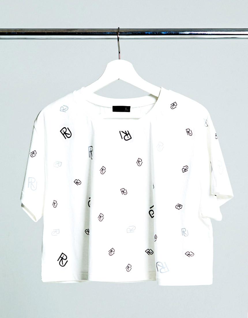 Riu logo print T-shirt