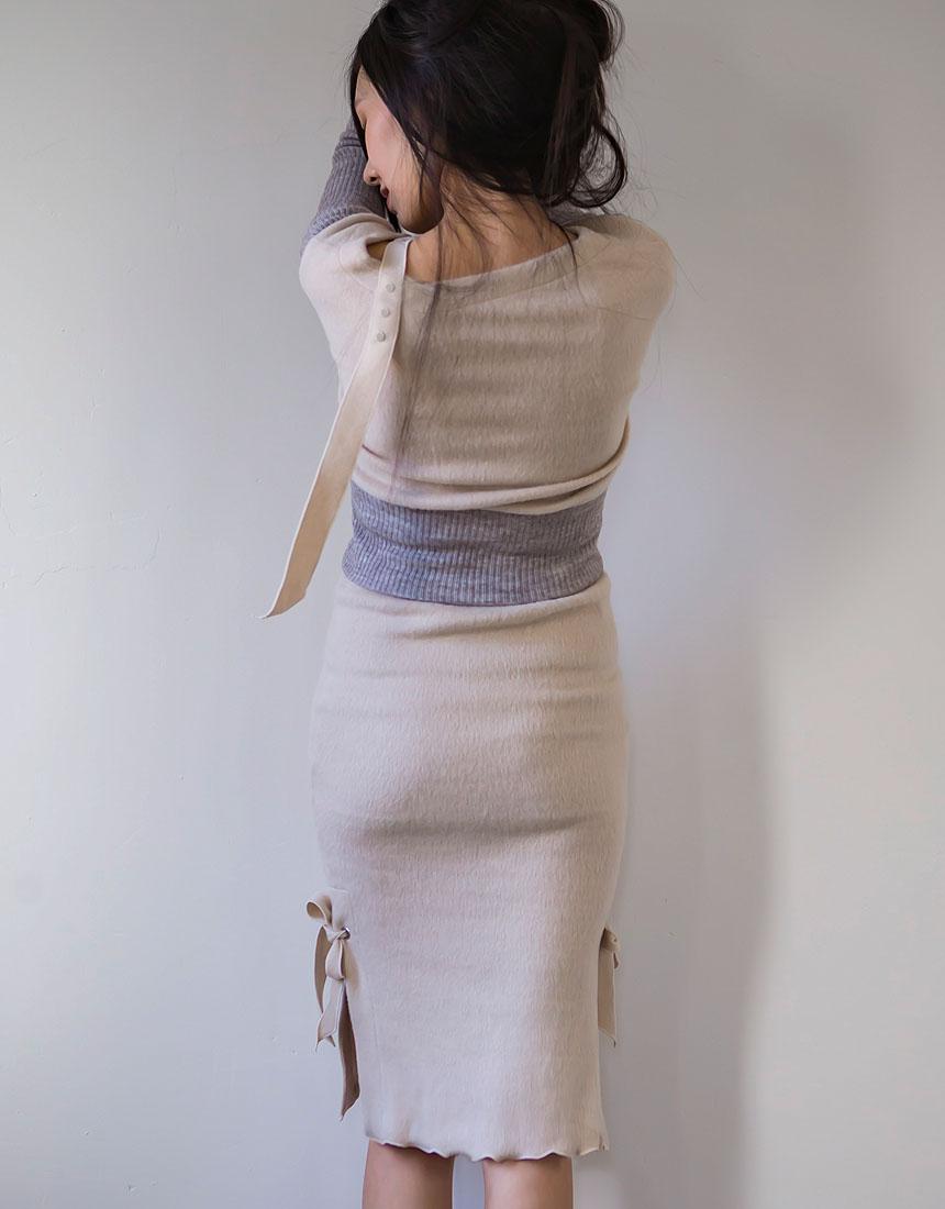 Shoulder ring belt knit