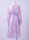 Flower print shear dress
