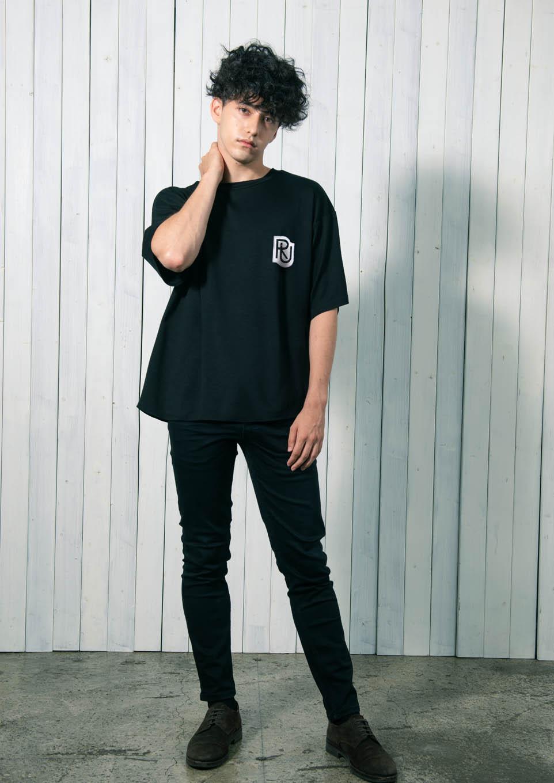 Riu unisex patch logo T-shirt