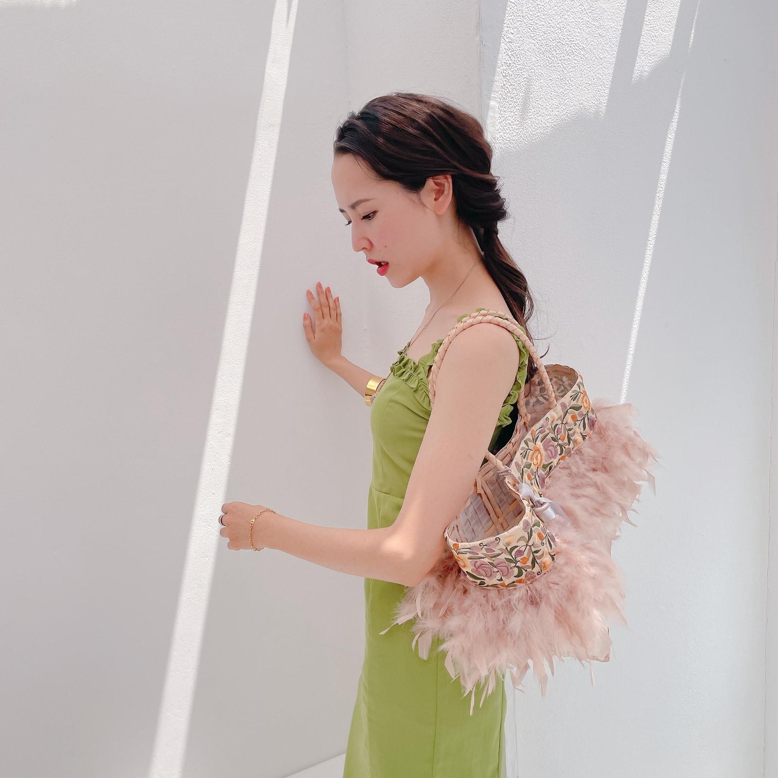 Candy Panier【L】 Ennui Rose Yellow