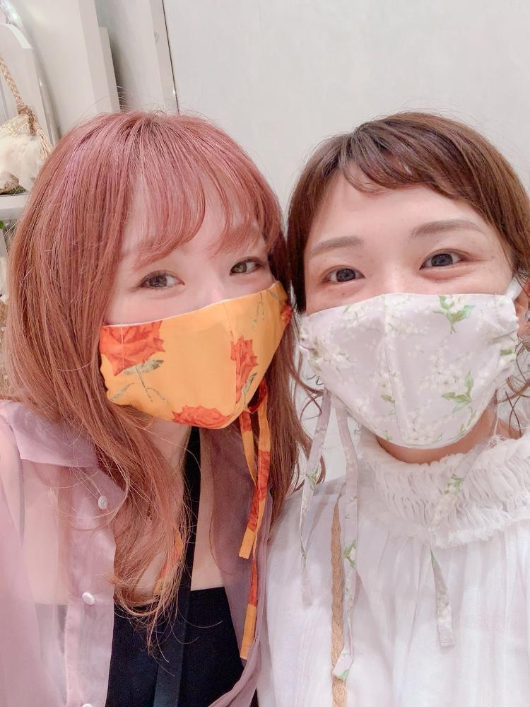 マスク Lily & Rose Ribbon Mask