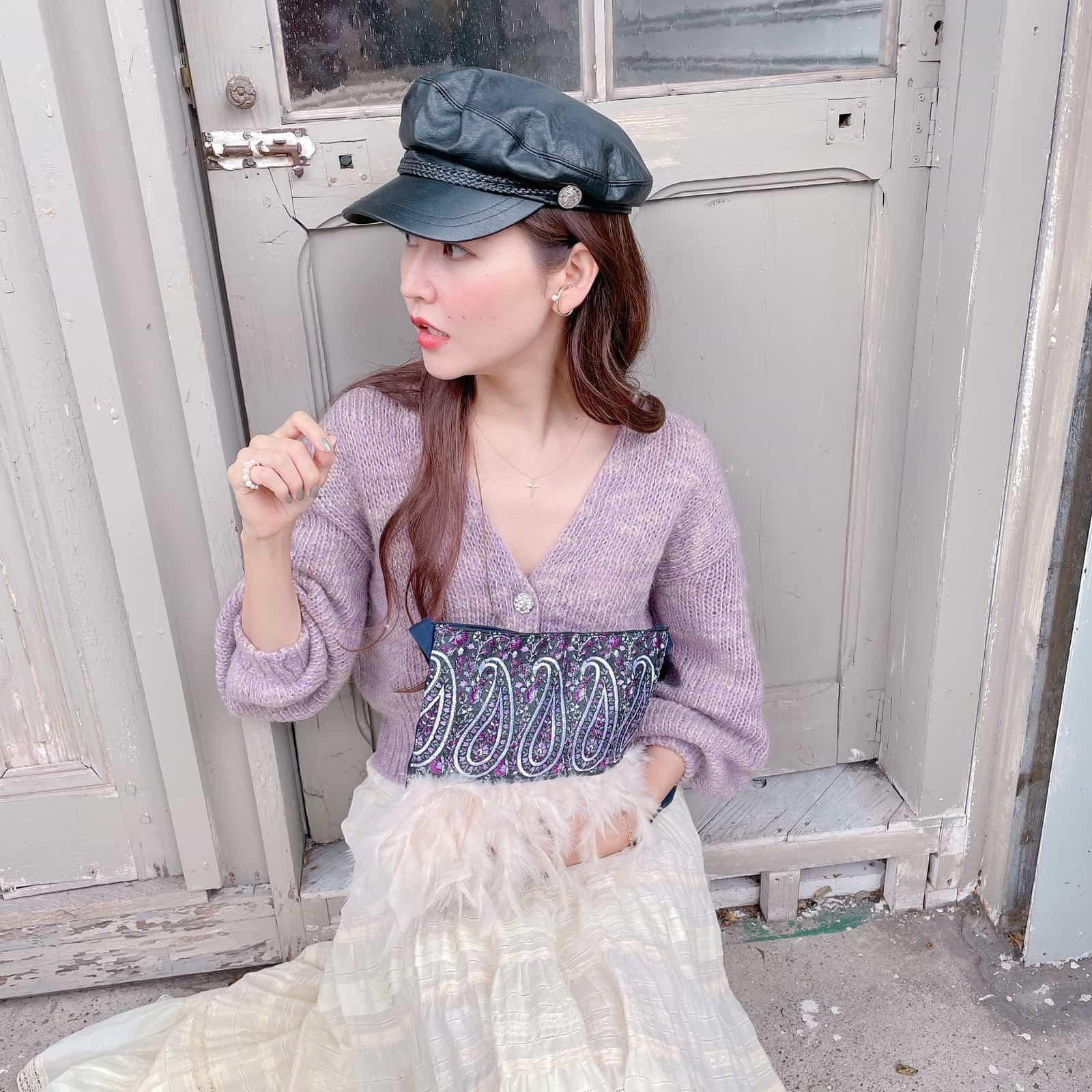 【予約】サコッシュ Florence Noir