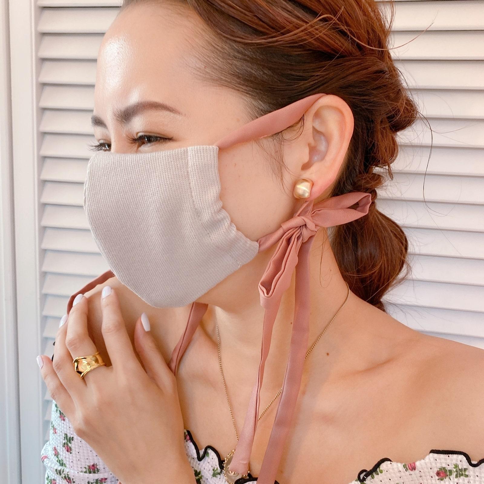 マスク Rib Ribbon Mask