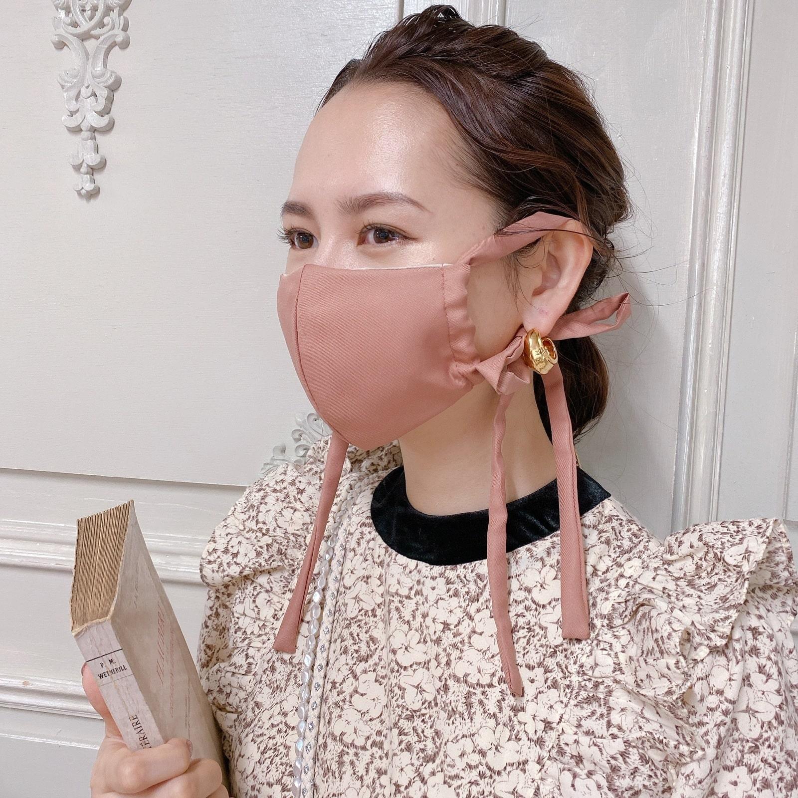 マスク Satin Ribbon Mask� 11/12 20:00発売