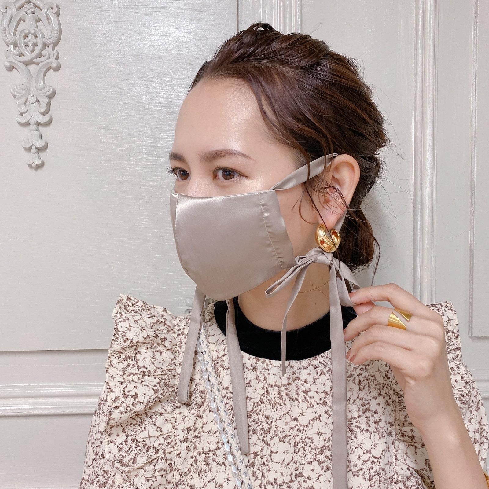 マスク Satin Ribbon Mask�