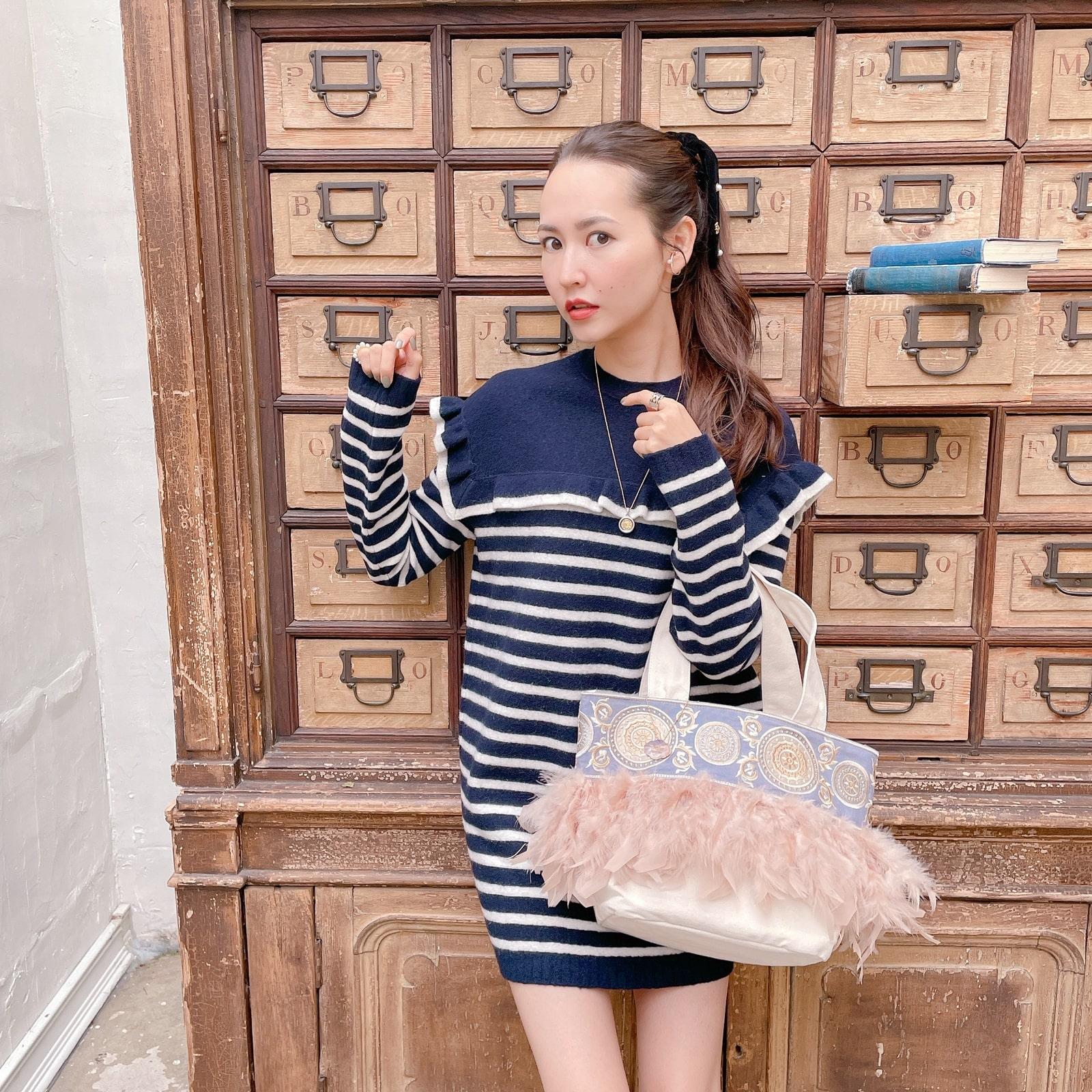 【予約】Mトート Hyacinth Sailor