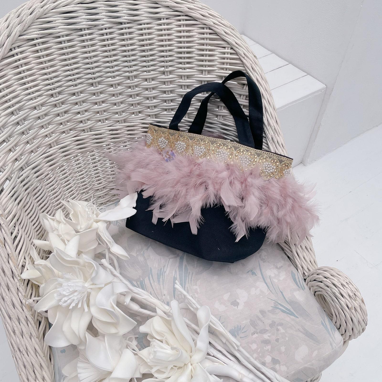 トート Hearty Pearl Smoky Pink