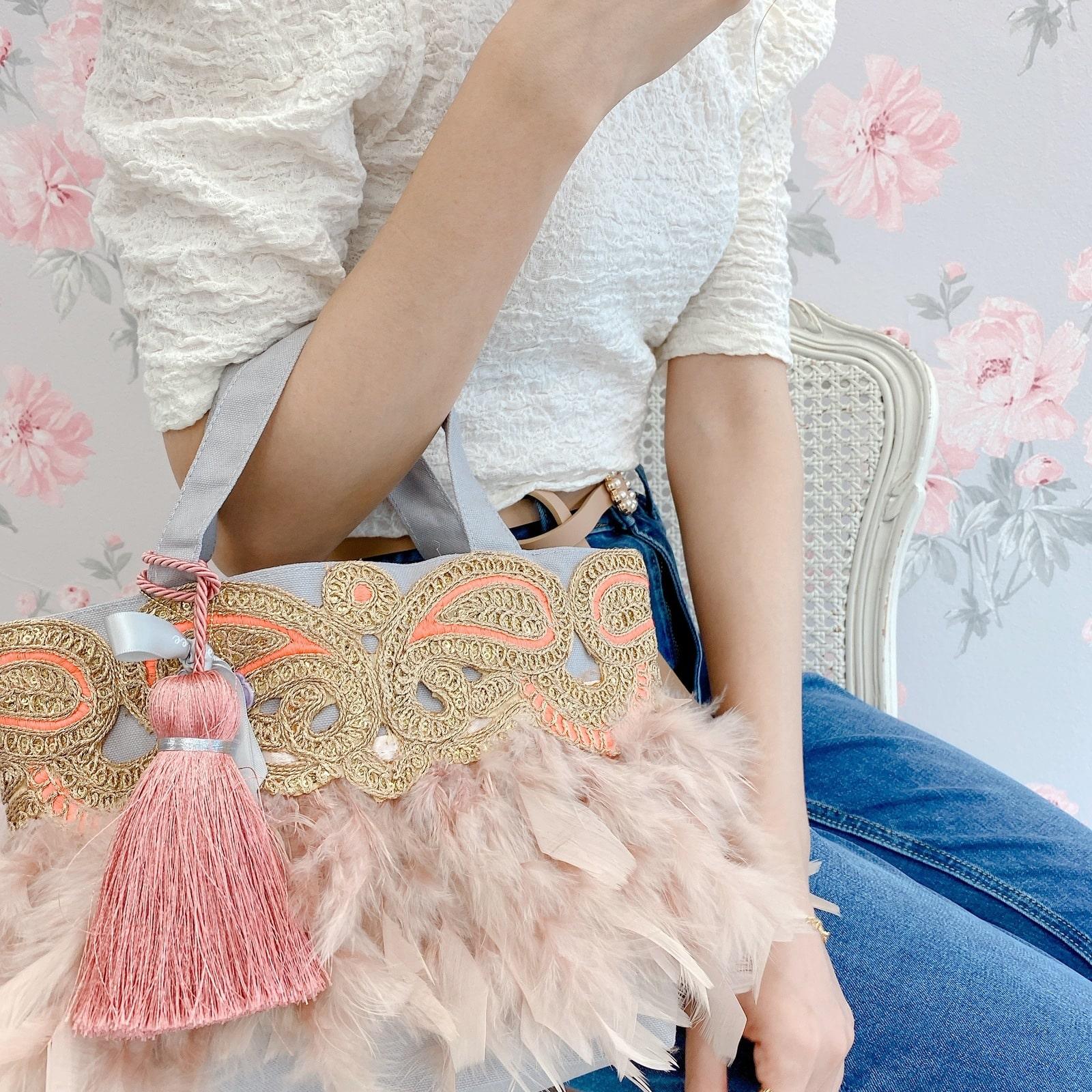 トート Pinkish Masquerade