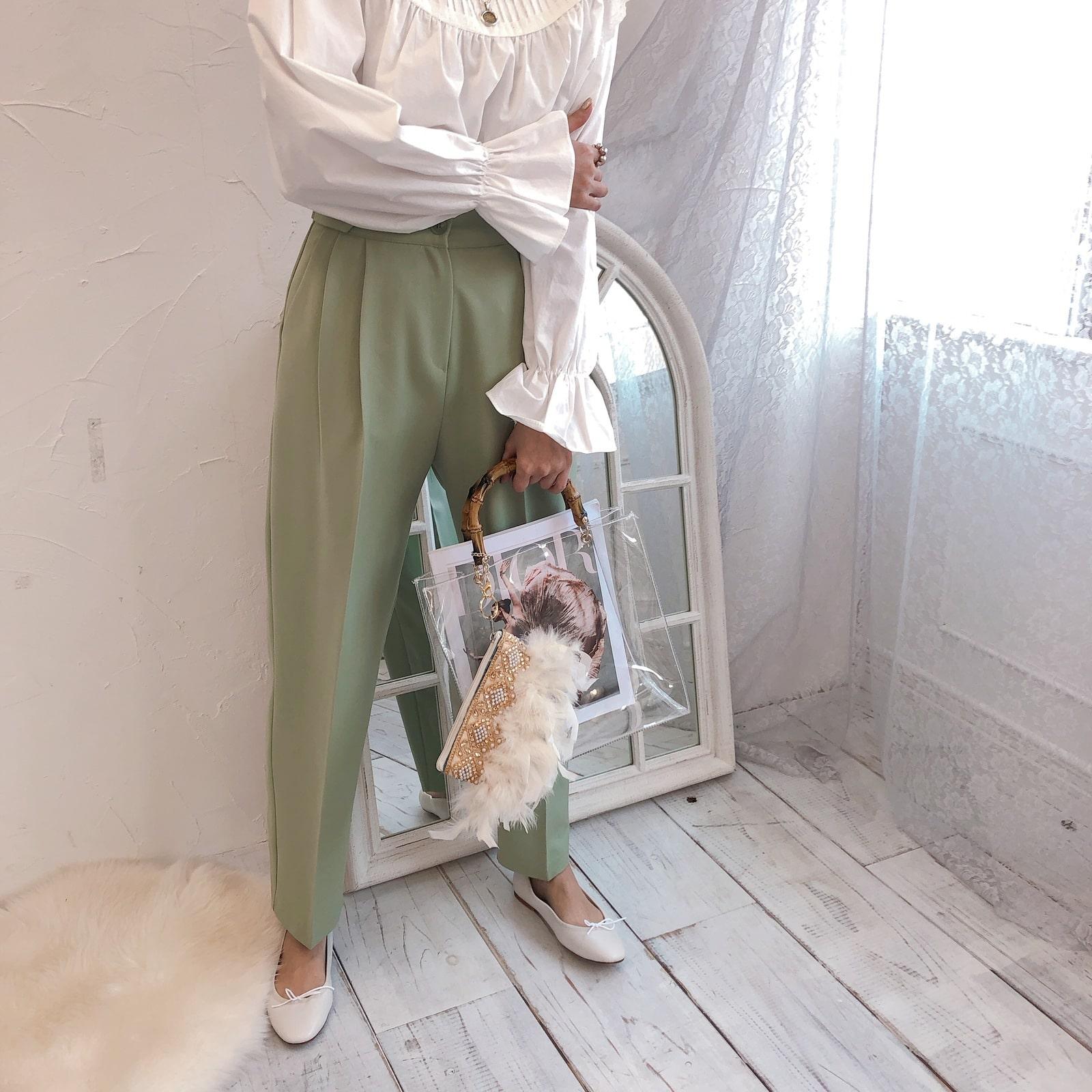 ポーチ&トート Miss Bamboo Rustic Chandelier