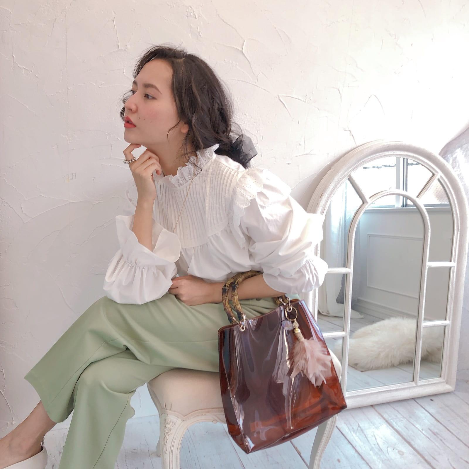 チャーム&トート Miss Bamboo