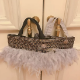fluffy TOTE Isabel Sparks Grey