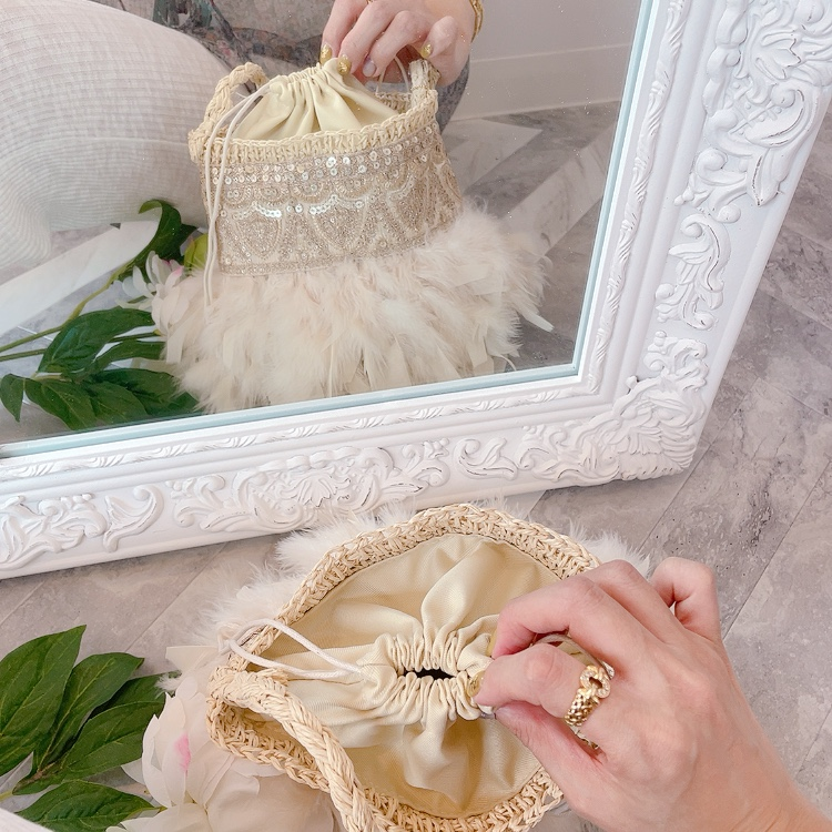 カゴ Twinkle Sorbet Ivory【バケツ】