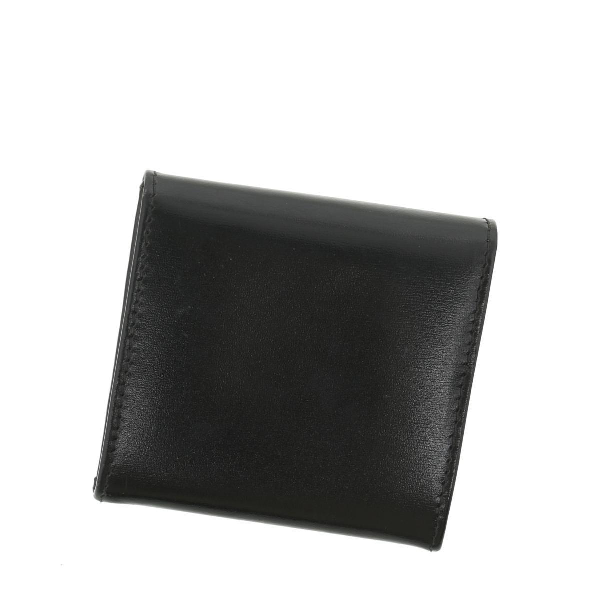 【中古】セリーヌ ヴィンテージ スターボール コインケース ブラック CELINE Vintage Star Ball Coin Case Black
