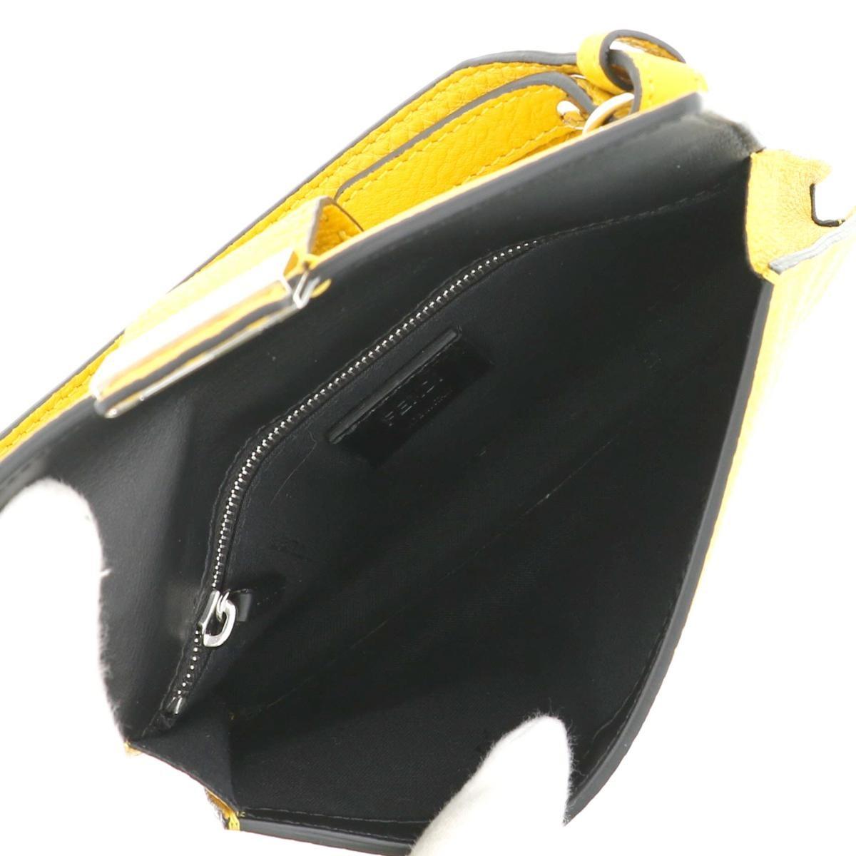 【セール中】フェンディ バゲット ショルダーバッグ イエロー FENDI Baguette Shoulder Pouch Yellow